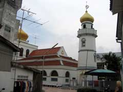 Mosques and Wats in Songkhla