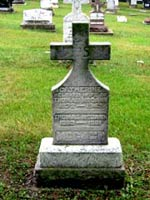 Tom McCanns Headstone