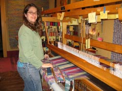 Rug Loom in the Quarter